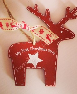 my first christmas hanging decoration