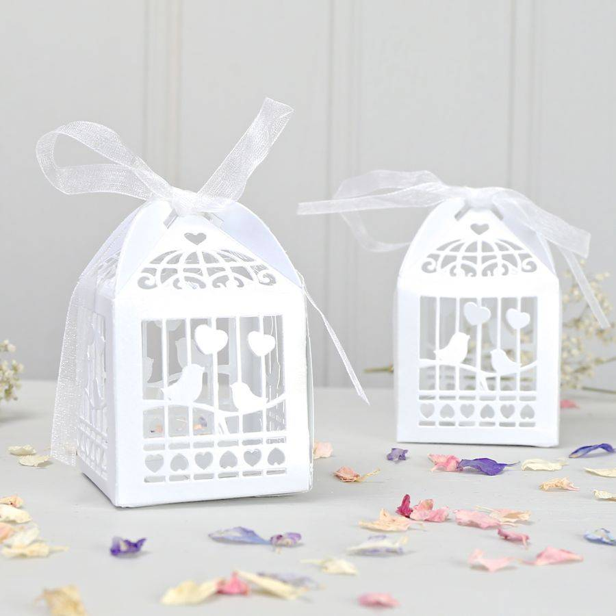 Bird Cage Favour Boxes | Bought with Thought