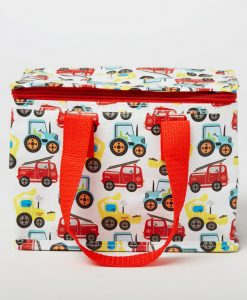 Colourful Trucks Lunch Bag