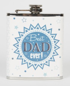 Best Dad Hip Flask