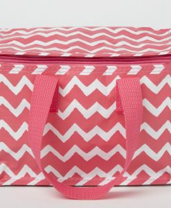 Pink Chevrons Lunch Bag