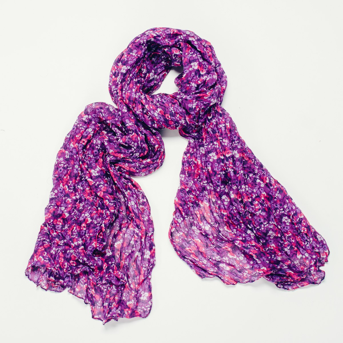 Purple Millie Scarf Bought With Thought